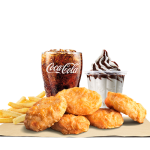 DEAL: Burger King – $5.50 Chicken Nuggets Stunner Meal
