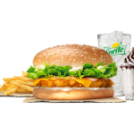 DEAL: Burger King – $7.50 Peri Peri Crispy Chicken Stunner Meal