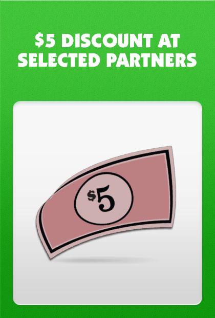 $5 Monopoly Money Discount - McDonald's Monopoly New Zealand