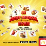 DEAL: McDonald's – Best Month Ever Daily App Deals in November