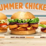 NEWS: Burger King Summer Chicken Range