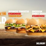 NEWS: Burger King Tastes of the World (American Smoky Cheese, Vietnamese Sweet Chilli or Japanese Tonkatsu)