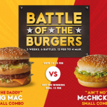DEAL: McDonald's – $5 Big Mac Small Combo (15-17 February 2019)
