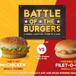 DEAL: McDonald's – $5 McChicken or Filet-O-Fish Small Combo (22-24 February 2019)