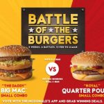 DEAL: McDonald's – $5 Big Mac or Quarter Pounder Small Combo (4-6 March 2019)