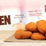NEWS: Burger King Spicy Chicken Bites