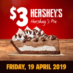 DEAL: Burger King App – $3 Hershey's Pie (19 April 2019)