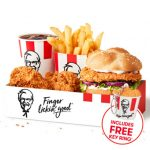 DEAL: KFC – $11.50 Zinger Box Meal with Free Key Ring