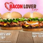 NEWS: Burger King Bacon Lover Range