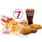 DEAL: KFC $7 Zinger Chips Meal