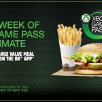 DEAL: Burger King – Free Week of Xbox Game Pass Ultimate with Any Large Meal Purchased on BK App