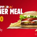 DEAL: Burger King – $6.50 Whopper Jr Stunner Meal