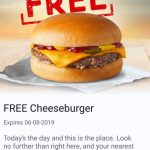 DEAL: McDonald's – 50,000 Free Cheeseburger Giveaway from 9am Tuesday 6 August with mymacca's app