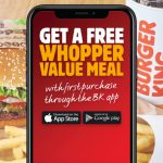 DEAL: Burger King – Free Whopper Value Meal with First Purchase through the BK App