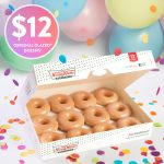 DEAL: Krispy Kreme – $12 Original Glazed Dozen on 12 December 2019