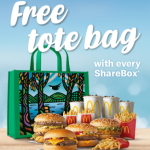 DEAL: McDonald's – Free Tote Bag with Every ShareBox