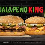 NEWS: Burger King – Jalapeno King Burgers (Beef or Chicken)
