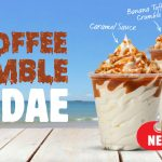 NEWS: Burger King Banoffee Crumble Sundae