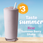 DEAL: McDonald's – $3 Summer Berry Shake