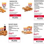 DEAL: KFC Coupons valid until 6 April 2020