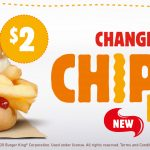 DEAL: Burger King $2 Chip Butty