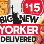 DEAL: Pizza Hut – $15 Big New Yorker Pizzas Delivered