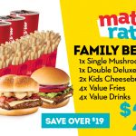 DEAL: Wendy's – $27.90 Family Beefin' Meal
