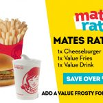 DEAL: Wendy's – $5 Mates Rates Deal (Cheeseburger, Value Fries, Value Drink)