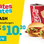 DEAL: Wendy's – $10.20 The Smash Combo (2 Bacon Cheeseburgers, Value Fries, Value Drink)