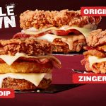 NEWS: KFC Double Down is Back (Kiwi Onion Dip, Zinger Gold, Original)