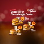 DEAL: McDonald's – $5 Cheeseburger Small Combo, $6 Double Cheeseburger Small Combo, $7 Triple Cheeseburger Small Combo