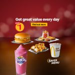 DEAL: McDonald's Saver Menu – $1 Hot Chocolate, $3 Cheesy Chicken Burger & more