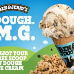 DEAL: Ben & Jerry's – Free Scoop of Dough Ice Cream (2-15 November 2020)
