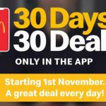 DEAL: McDonald's – 30 Days 30 Deals 2020 New Zealand (November 2020)