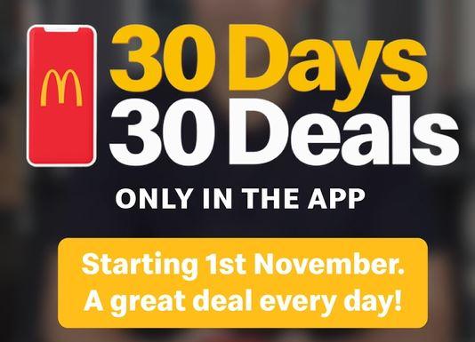 Deal Mcdonald S Free Mcchicken For First 30 000 11 November 2020 30 Days 30 Deals Frugal Feeds Nz