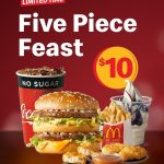 DEAL: McDonald's – $10 Five Piece Feast (Big Mac, Small Fries, Small Drink, Sundae, 3 Nuggets)