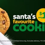 DEAL: Subway $1 Cookie